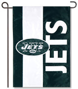 New York Jets Applique Garden Flag