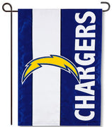 Los Angeles Chargers Applique Garden Flag