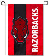 University of Arkansas Applique Garden Flag