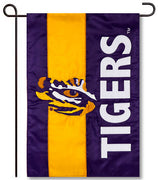 Louisiana State University Applique Garden Flag