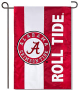 University of Alabama Applique Garden Flag