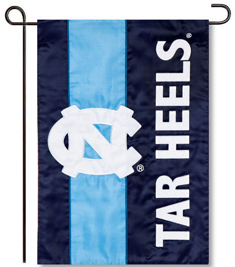 University of North Carolina Applique Garden Flag