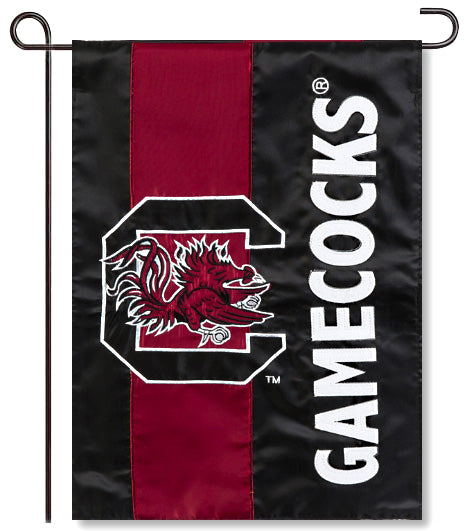 University of South Carolina Applique Garden Flag