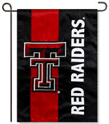Texas Tech Applique Garden Flag