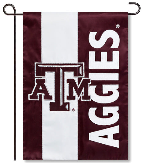 Texas A&M Applique Garden Flag