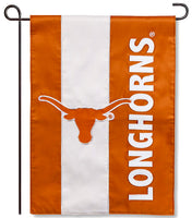 University of Texas Applique Garden Flag