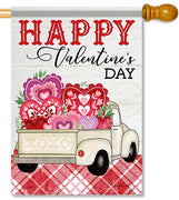Truckload of Love House Flag