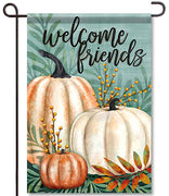 Pumpkins & Berries Garden Flag