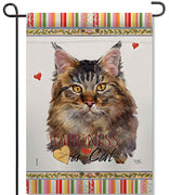 Maine Coon Garden Flag