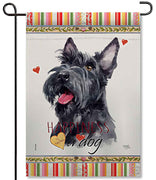 Scottish Terrier Garden Flag