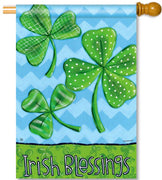 Irish Blessings House Flag