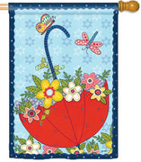 April Showers House Flag