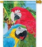 Tropical Beauties House Flag