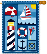 Nautical Days House Flag