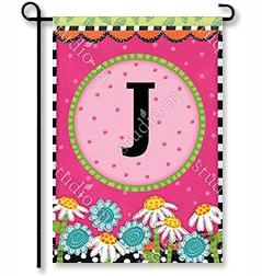 Frolic Flowers Monogram