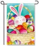 Easter Basket Garden Flag