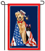 Pets on Parade Garden Flag