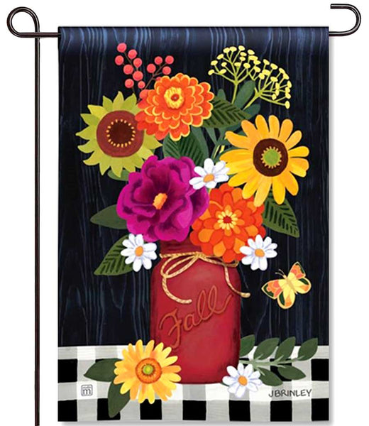 Autumn Blooms Garden Flag