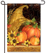 Autumn Bounty Garden Flag