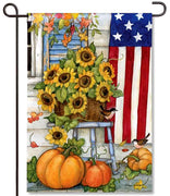 Fall Porch Garden Flag