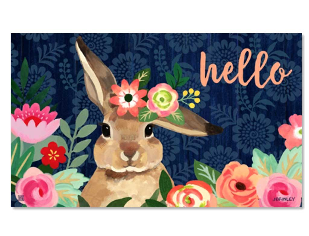Bunny Bliss Door Mat