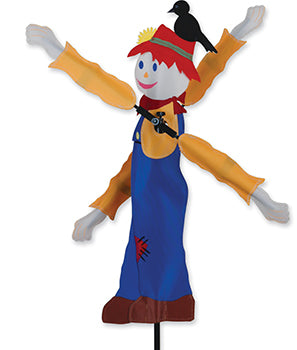 "20"" Scarecrow Whirligig Spinner"