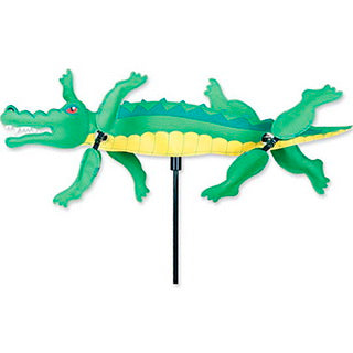 "21"" Alligator Whirligig"