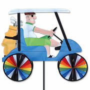 "23"" Man Golf Cart Spinner"