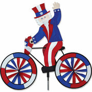 "30"" Uncle Sam Bicycle Spinner"