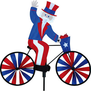 "20"" Uncle Sam Bicycle Spinner"