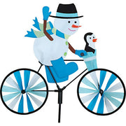 "20"" Snowman Bicycle Spinner"