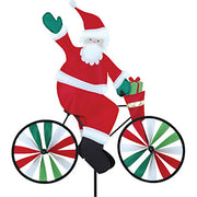 "20"" Santa Bicycle Spinner"