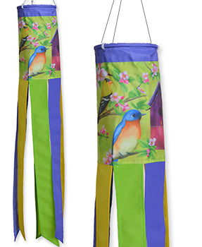 "Home for the Birds 28"" Windsock"