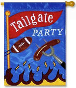 Tailgate Party House Flag