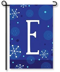 Winter Snowflakes Monogram