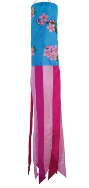 "Cherry Blossom 40"" Windsock"