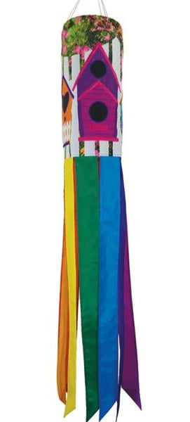 "Birdhouse Garden 40"" Windsock"