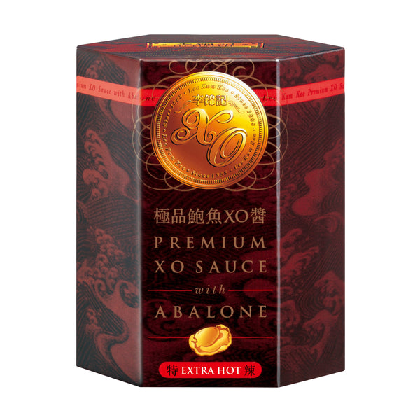 Premium XO Sauce with Abalone (Extra Hot) 80g | 特辣鮑魚XO醬 80克