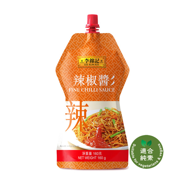 Fine Chilli Sauce Cheer Pack 160g | 辣椒醬直立唧唧裝 160克