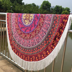 Red Hippie Tapestry