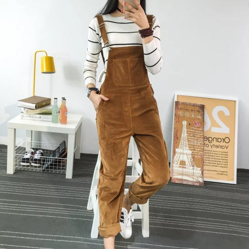 Moi Cotton Overalls (3 colors)