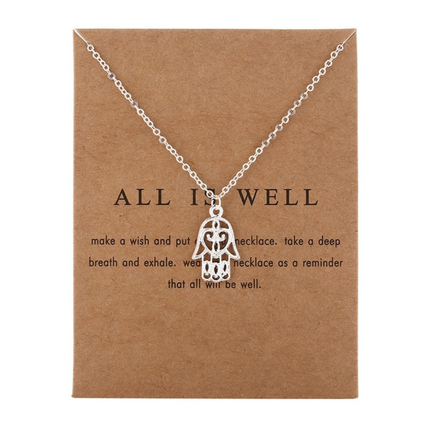 All Is Well Necklace (2 colors)