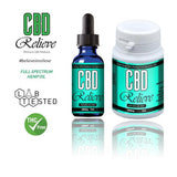 CBD Relieve 15ml Oral Tincture Liquid - 2000mg