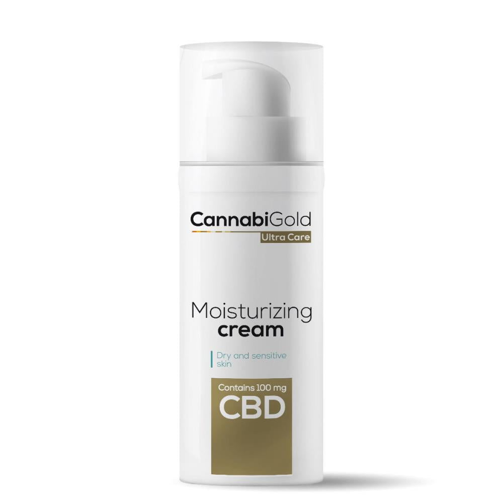 CannabiGold: UC Moisturising Cream 50ml 100mg