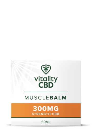 Vitality CBD Muscle Balm 50ml - 300mg