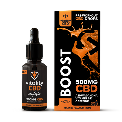 Vitality Active: CBD Boost Drops 30ml