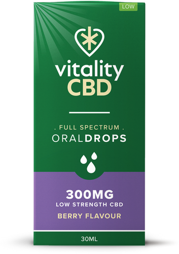 Vitality CBD Oral Drops 30ml - 300mg