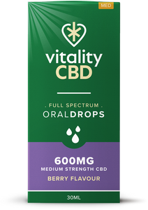 Vitality CBD Oral Drops 30ml - 600mg