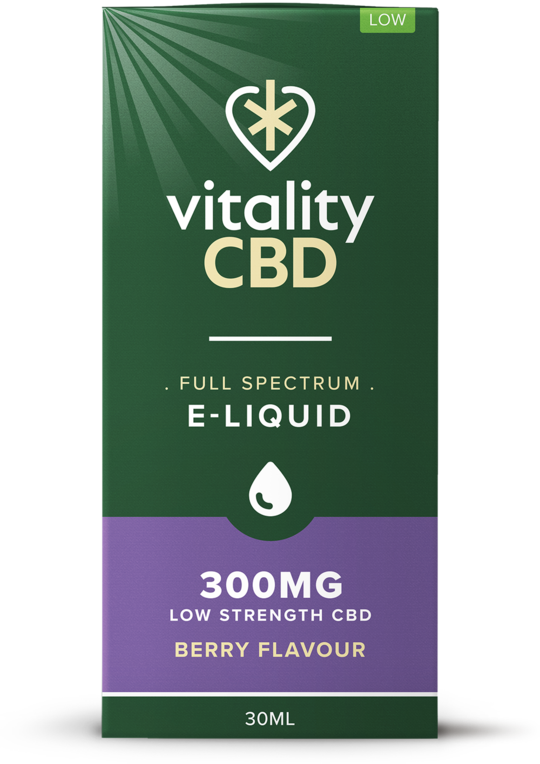 Vitality CBD Eliquid 30ml - 300mg