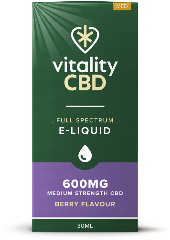 Vitality CBD Eliquid 30ml - 600mg